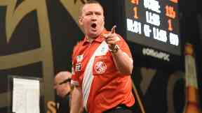 Glen Durrant: He can't wait for Glasgow. Darts