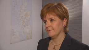 Nicola Sturgeon February 13 2019.