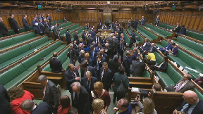 House of Commons Brexit votes Valentine's Day February 14 2019.