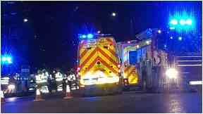 London Road Crash