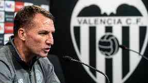 Brendan Rodgers Valencia