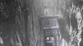 Katrine Aqueduct construction