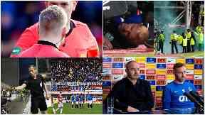 Football shame