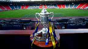 Scottish Cup trophy gv