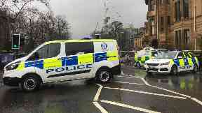Glasgow: Roads have been closed off. Suspicious packages.