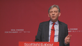 Richard Leonard Scottish Labour spring conference Dundee March 9 2019.