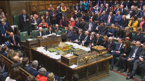 House of Commons second meaningful vote on Brexit deal March 12 2019.