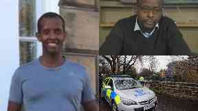 Lionel Simenya: A stolen car was used to mow him down. Edinburgh Saughton Murder