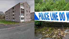 Paisley: The man died in hospital.