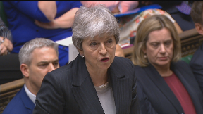 Theresa May asks EU to delay Brexit by three months, PMQs March 20 2019.