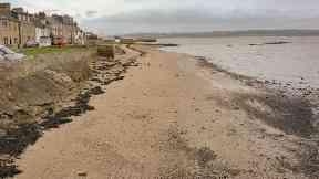 Limekilns beach