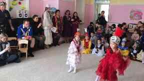 Tartan Army children's charity Kazakhstan March 2019