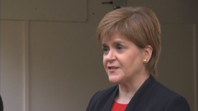 First Minister Nicola Sturgeon in London April 3 2019.
