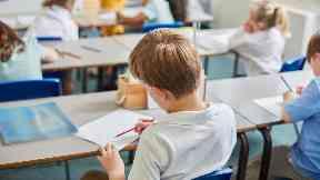 Teaching teacher school primary classroom class generic