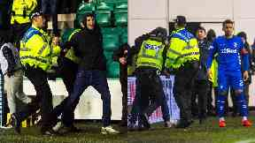Cameron Mack: He has been jailed for 100 days. Hibs Rangers