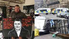 Bradley Welsh: The Trainspotting star was gunned down. Edinburgh Chester Street.