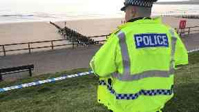 Aberdeen beach: A stretch has been cordoned off by police. Two women dead