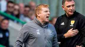 Neil Lennon: Celtic drew 0-0 with Hibs.