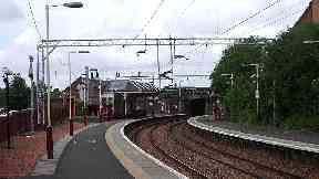 Coatbridge Sunnyside railway station. From wikimedia commons