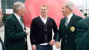 Tributes: Chalmers was a legend at Celtic. Stevie Chalmers