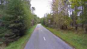 Crash: Road between Kirkbrae, Cults, and Kingswells.
