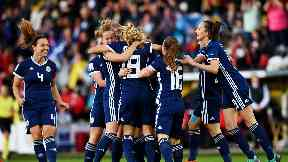 Scotland women v Switzerland