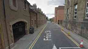 Inverness: The pair have been jailed for the attack. Friars Street