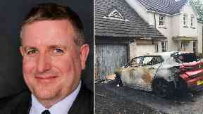 Graeme Campbell: The Tory was in his house with his family. Fire Strathaven