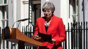 Theresa May resignation statement May 24 2019