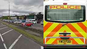 Dunblane: The Schoolboy was said to have been grabbed. Stirling Road
