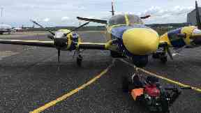Scottish Fisheries watchdog aircraft