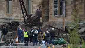 Speilberg 1917 film set Glasgow June 2019