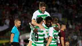 Celtic: They came from behind to win 3-1. Sarajevo Champions League Qualifer