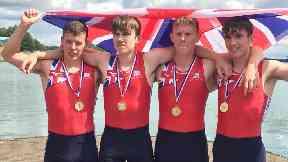 Team GB rowers