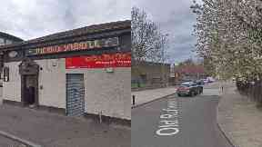 Pig 'n' Whistle and Old Rutherglen Road