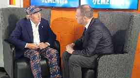 Sir Jackie Stewart at Race Against Dementia event