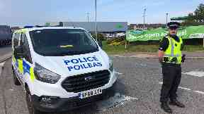 Industrial accident in Peterhead at Asda store July 16 2019