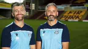 Motherwell boss Stephen Robinson