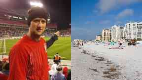 Garry Perks: The 32-year-old was struck by lightning. Florida Death