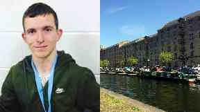 John Connelly: The 28-year-old had injuries to his head and body. Glasgow Speirs Wharf