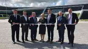 Business leaders open TECA exhibition centre in Aberdeen August 2019