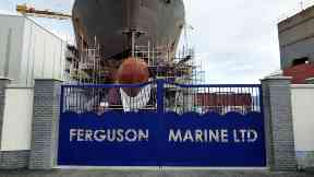 Ferguson: The Port Glasgow site is now open to other investors. Ferguson Shipyard