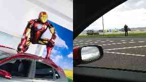 Iron Man: Coastguard crews were called.