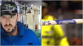 Cumbernauld robbery CCTV