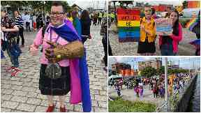 Glasgow Pride event August 17 2019