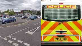 Falkirk: Police were called to the station. Falkirk Grahamston