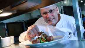 Bruce Price, executive head chef at Dalmahoy Hotel & Country Club who is deaf