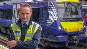 Christopher Harvie, ScotRail