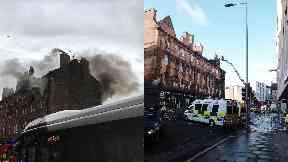 Fountainbridge: Firefighters found a body. Edinburgh