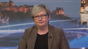 SNP MP Joanna Cherry on Scotland Tonight September 11 2019.